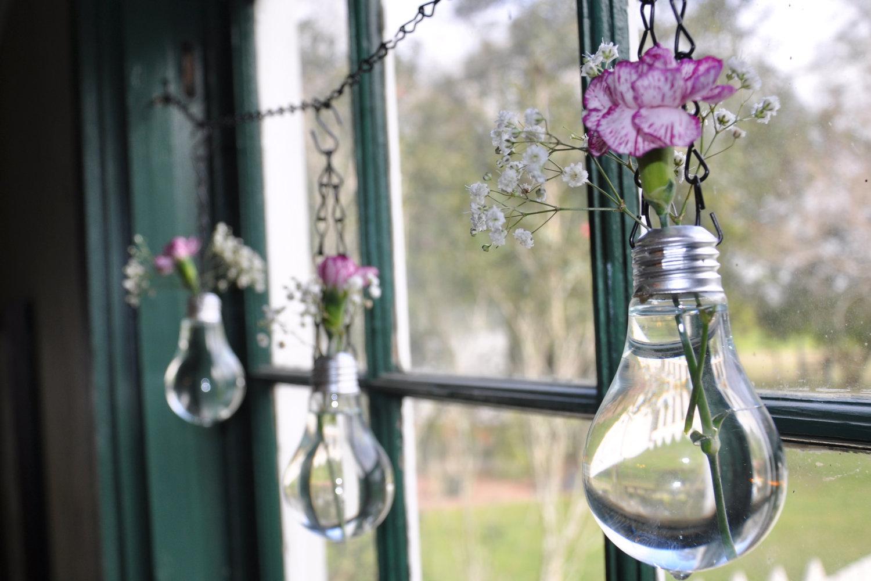 Recipientes reciclados para una boda vintage atelier de boda - Comprar decoracion vintage ...