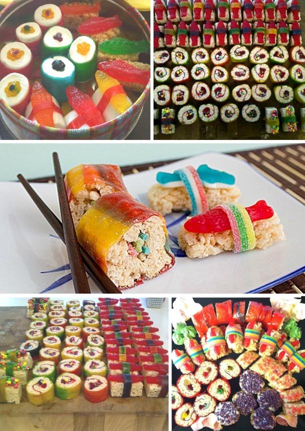 montaje sushi
