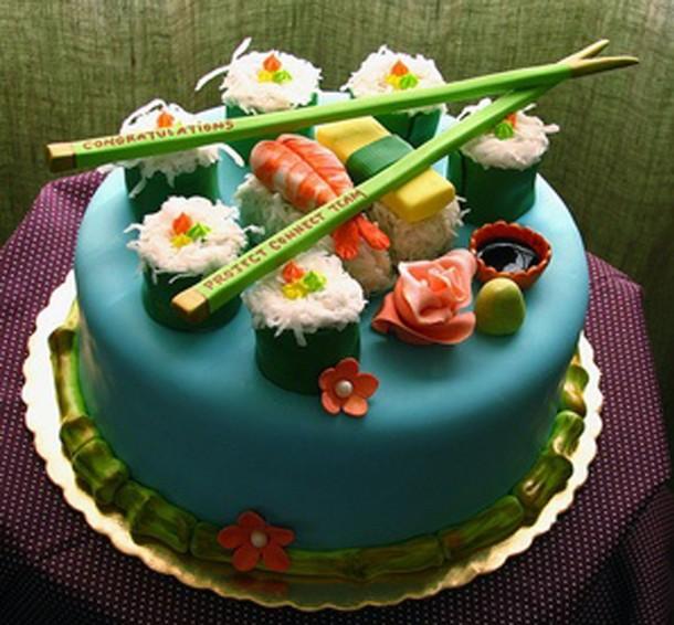 tarta sushi