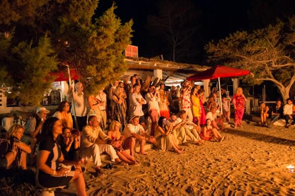 fire-show-beach-wedding