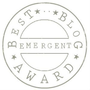 Yes!! Best Emergent Blog Award