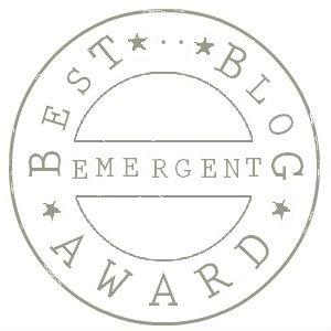 logo best emergent blog award