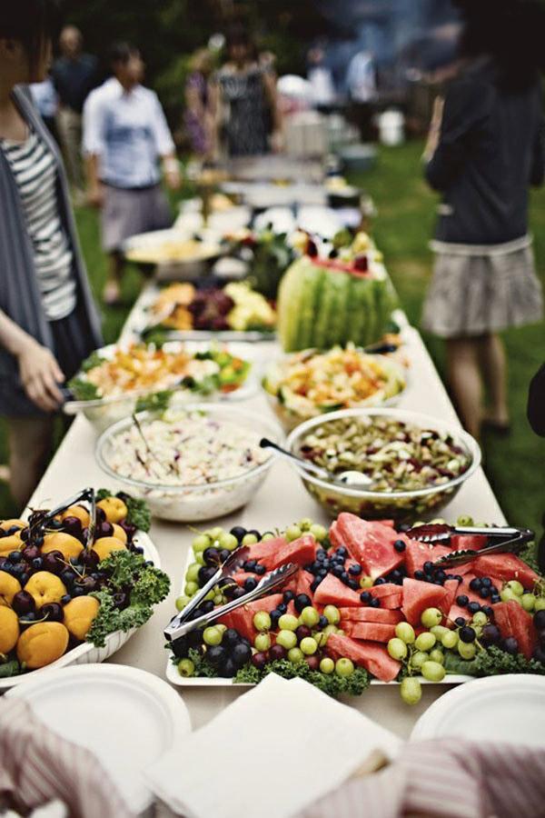 buffet frutas