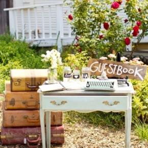 Máquinas de escribir para bodasvintage