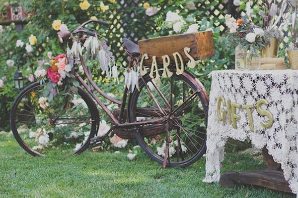 bici deco mesa