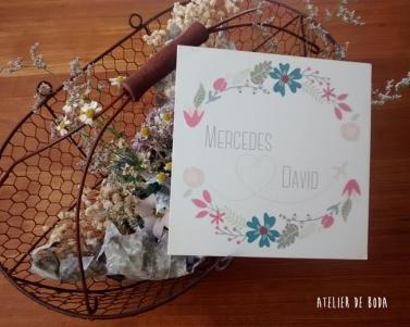 invitación de boda Love is in the air