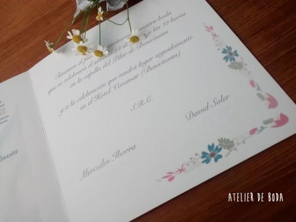 texto invitación boda
